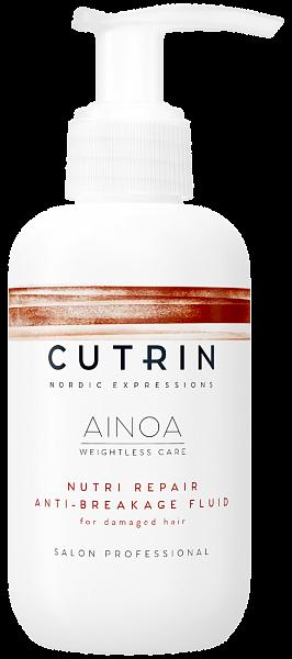 Cutrin AINOA Несмываемый флюид для восстановления Nutri Repair