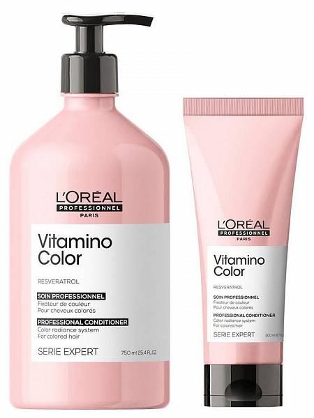 Loreal Vitamino Color Смываемый уход для окрашенных волос Resveratrol