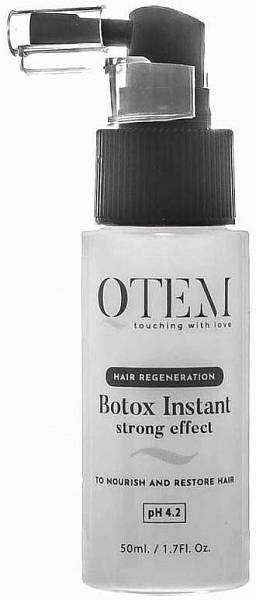 QTEM Спрей-филлер холодный ботокс для волос Instant Strong Effect
