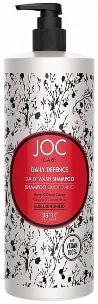 """Barex JOC Care Шампунь для ежедневного применения с коноплей и зеленой икрой """"DAILY DEFENCE"""""""