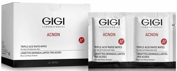 GIGI Acnon Влажные очищающие салфетки