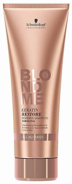 Schwarzkopf Blondme All Blondes Бондинг-шампунь кератиновое восстановление для волос блонд