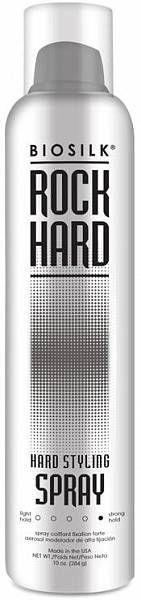 Biosilk Rock Hard Спрей сверхсильной фиксации