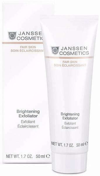 Janssen Fair Skin Пилинг-крем для выравнивания цвета лица Brightening Exfoliator