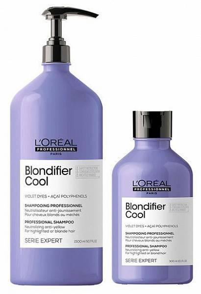 Loreal Blondifier Шампунь для холодных оттенков блонд Cool