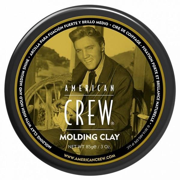 American Crew Elvis Presley Формирующая глина сильной фиксации King Classic Molding Clay