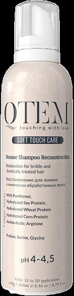 QTEM Протеиновый мусс-шампунь Restoration