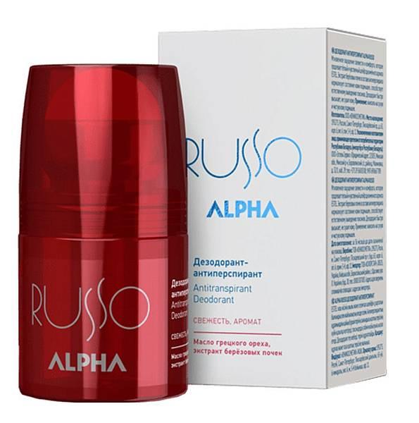 Estel Alpha Russo Дезодорант-антиперспирант для тела