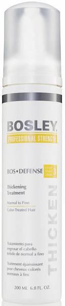 Уход увеличивающий густоту нормальных/тонких окрашенных волос Bosley Defense