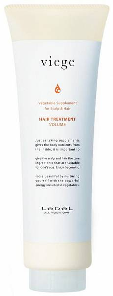 LebeL Viege Маска для объёма волос Treatment Volume