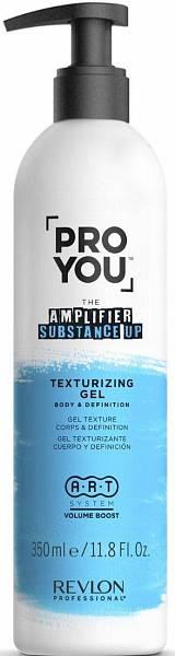 Revlon Pro You Amplifier Текстурирующий гель для уплотнения волос и стойкости укладки Substance up