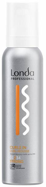 Londa Styling Мусс для кудрявых волос сильной фиксации CURLS IN