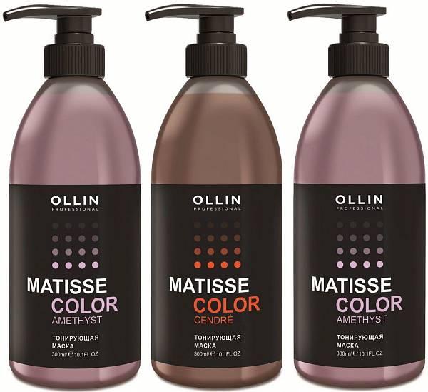 Ollin Тонирующая маска для волос Matisse Color