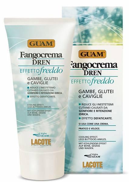 Guam Крем антицеллюлитный с дренажным эффектом освежающий Dren