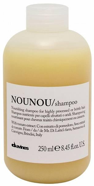 Davines Essential Питательный шампунь для уплотнения волос NOUNOU