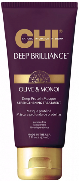 CHI Deep Brilliance Протеиновая маска для волос глубокий уход