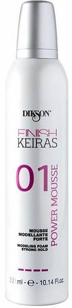 01 Мусс моделирующий сильной фиксации Dikson Keiras