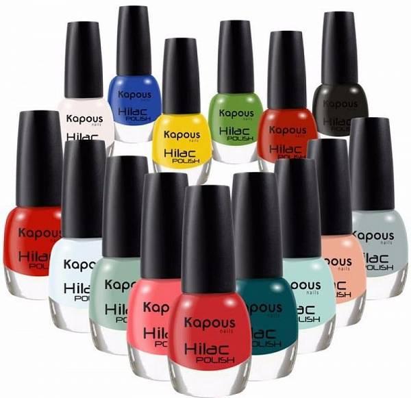 Kapous Декоративный лак для ногтей Hi-Lac