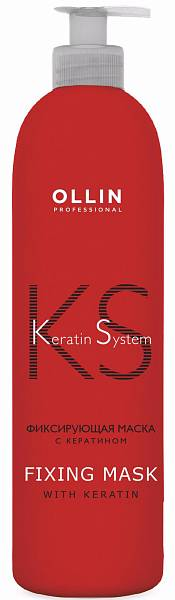 Ollin Keratin System Фиксирующая маска с кератином