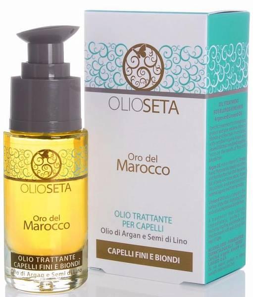 Barex Olioseta Marocco Масло Блонд-Уход с маслом арганы и маслом семян льна