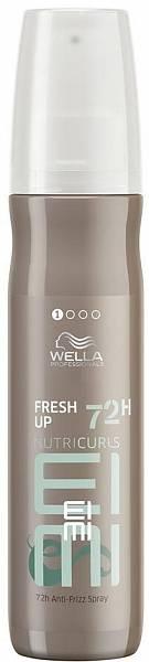 Wella NutriCurls Спрей для блеска для вьющихся и кудрявых волос FRESH UP