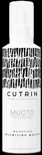 Cutrin MUOTO Невесомый мусс для объёма Weightless Volumizing