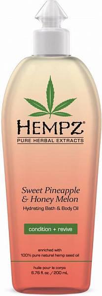 Hempz Увлажняющее масло для ванны и тела Hydrating Bath Body Oil