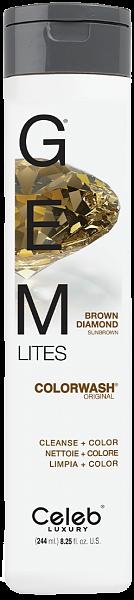 Celeb Gem Lites Шампунь для яркости цвета Коньячный Бриллиант