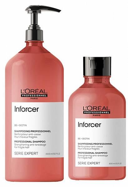 Loreal Inforcer Шампунь для укрепления волос
