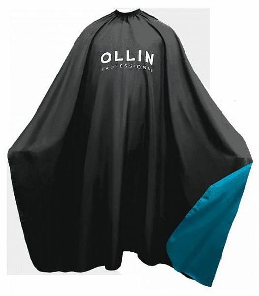 Ollin Professional Пеньюар для окрашивания на крючках чёрный