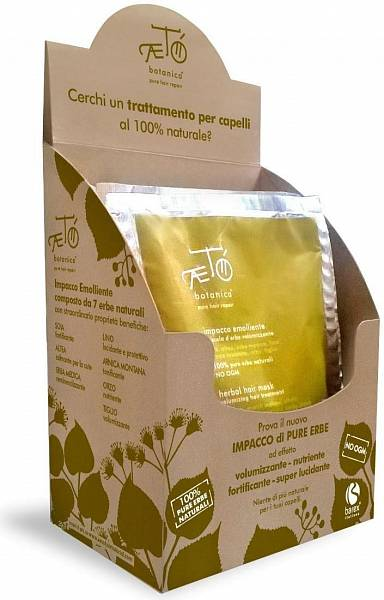 Barex Aeto Маска смягчающая из растительной смеси с эффектом укрепления и объёма