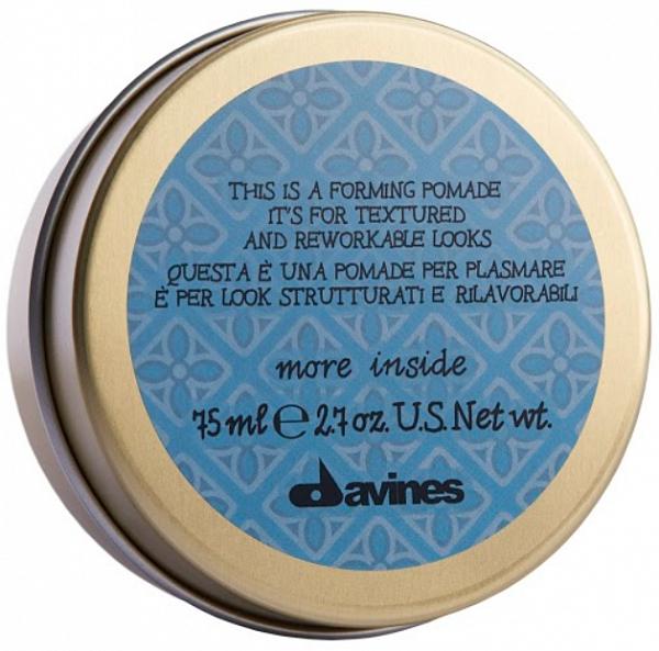 Davines More Inside Моделирующая помада Forming Pomade для текстурных и пластичных образов