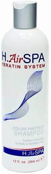 H.АirSPA Keratin System Шампунь кератиновый для окрашенных волос