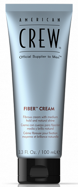 American Crew Крем средней фиксации с натуральным блеском Fiber Cream