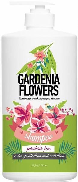 Protokeratin by Family Шампунь цветочный защита и питание цветы гардении