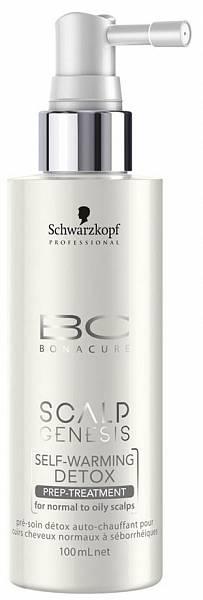 Schwarzkopf BC Scalp Genesis Самонагревающаяся маска Self Warming Detox Tonic