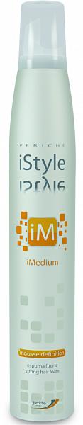 Periche iStyle iMedium Мусс для укладки волос сильной фиксации Mousse Definition