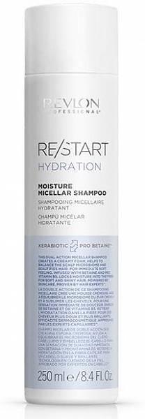 Revlon ReStart Hydration Мицеллярный шампунь для нормальных и сухих волос