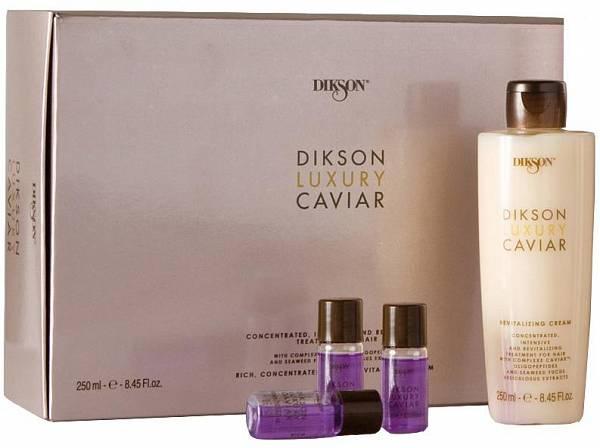 Dikson Luxury Caviar Набор - Ампульный комплекс и ревитализирующий крем