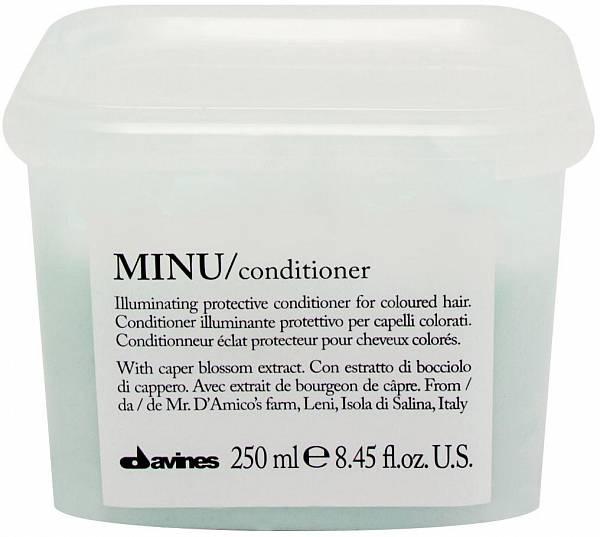 Davines Essential Кондиционер для сохранения косметического цвета волос MINU