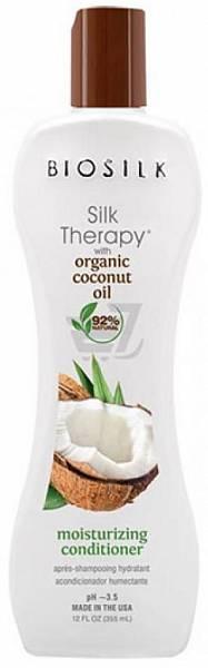 Biosilk Silk Therapy Organic Coconut Oil Кондиционер увлажняющий