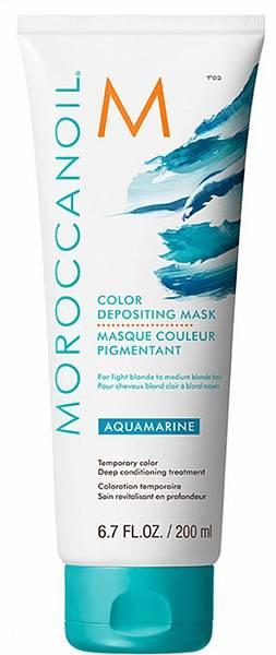 Moroccanoil Color Тонирующая маска Aquamarin с расчёской в подарок