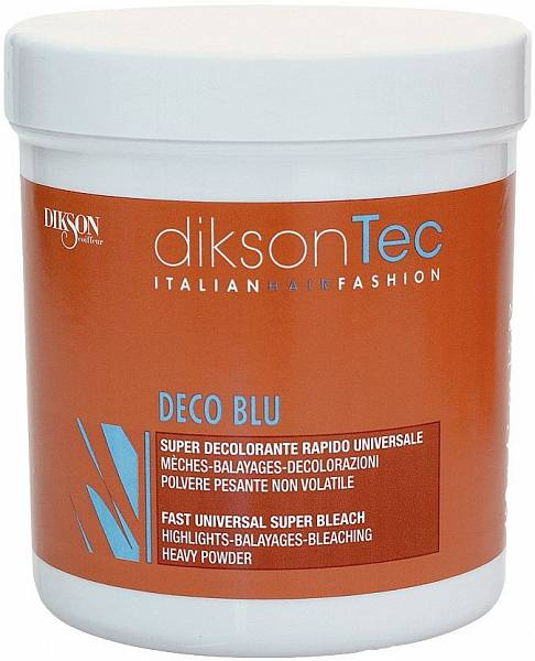 Dikson Пудра для быстрого обесцвечивания без запаха Deco Blu