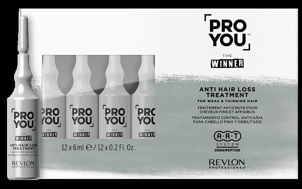 Revlon Pro You Winner Ампулы против выпадения волос