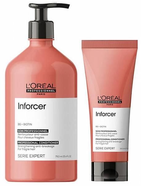 Loreal Inforcer Смываемый уход для хрупких волос