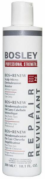Bosley Treatment Микродермабразия кожи головы Шаг 2 (Усилитель)
