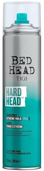 TIGI Styling Лак для супер-сильной фиксации Hard Head
