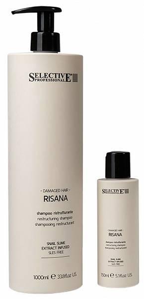 Selective Risana Восстанавливающий шампунь без SLES