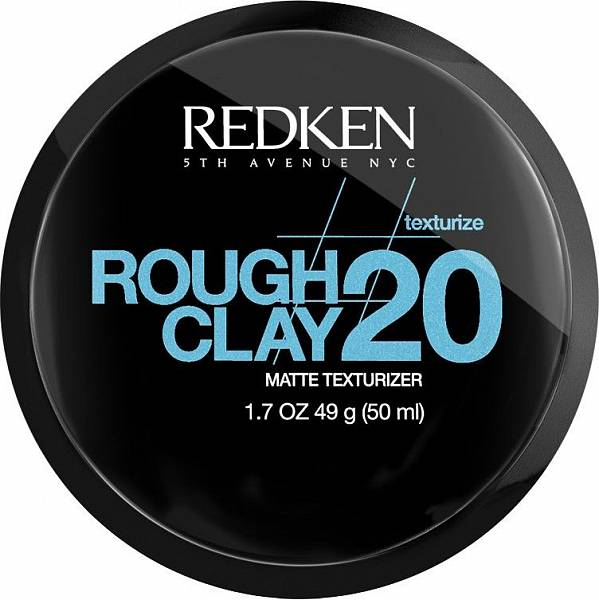 Redken Texture Пластичная текстурирующая глина с матовым эффектом Rough Clay 20