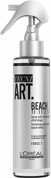 Loreal TecniArt Текстурирующий спрей с минералами соли Beach Waves Texture